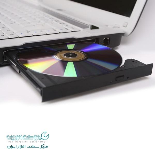 نخواندن سی دی در لپ تاپ