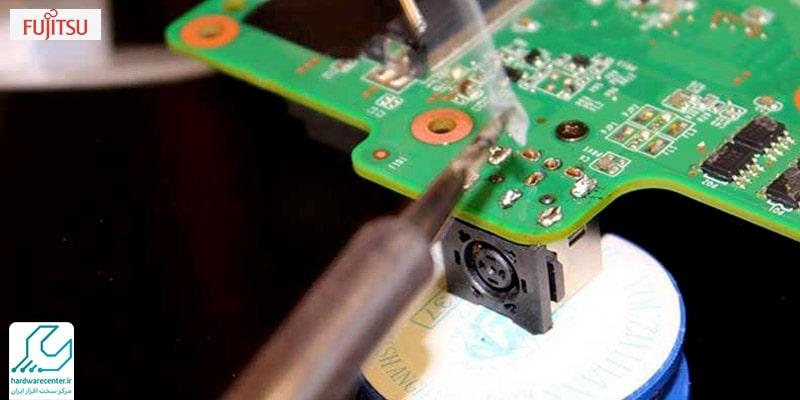 تعمیر مدار شارژ لپ تاپ فوجیستو